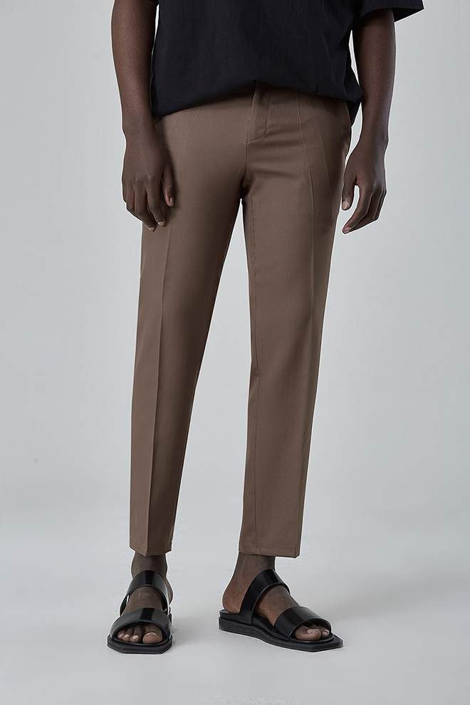 Slightly Tapered Leg Slacks