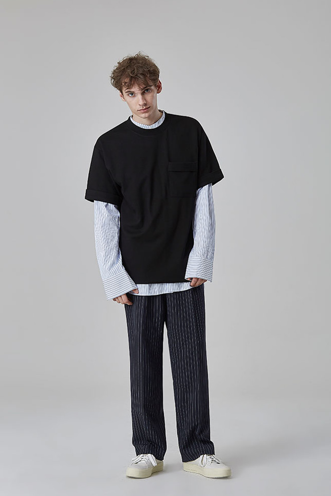 Folded Sleeve T-Shirt