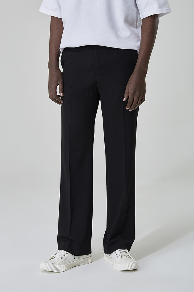Loose Straight Leg Slacks