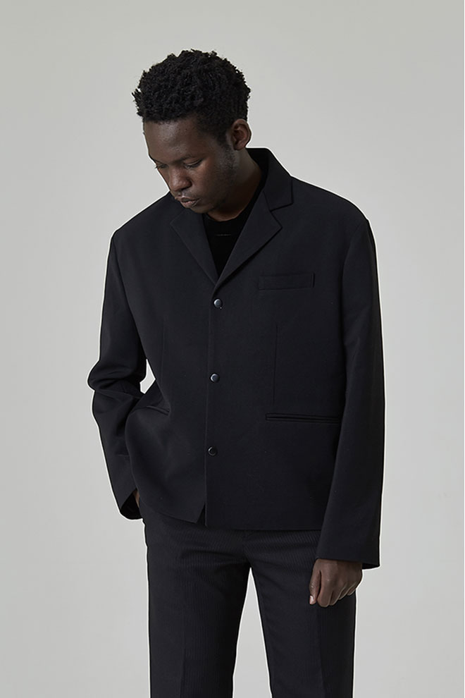 Notched Collar Jacket