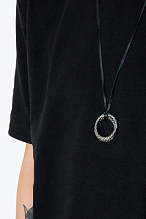 TWO RING NECKLACE투링 네크리스[2color / one size]